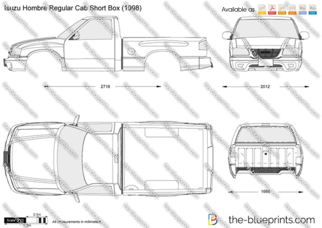 Isuzu Hombre Regular Cab Short Box 1996