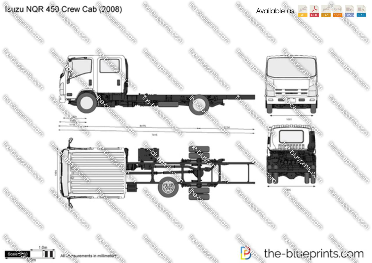 Isuzu NQR 450 Crew Cab 2017