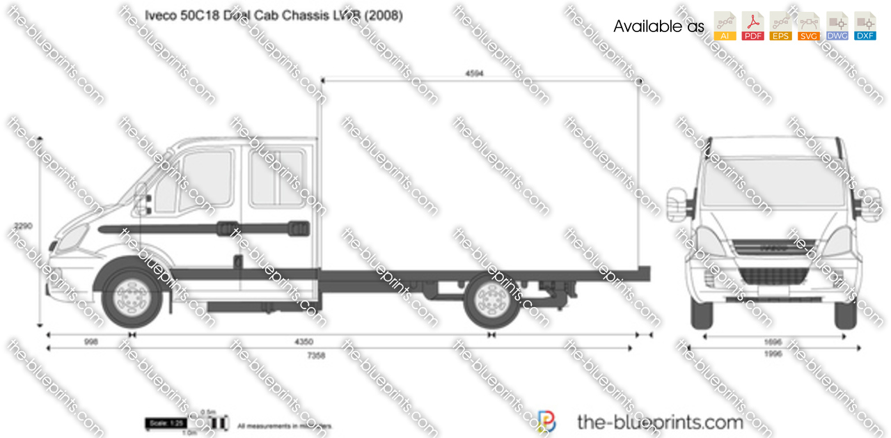 Iveco 50C18 Dual Cab Chassis LWB 2007