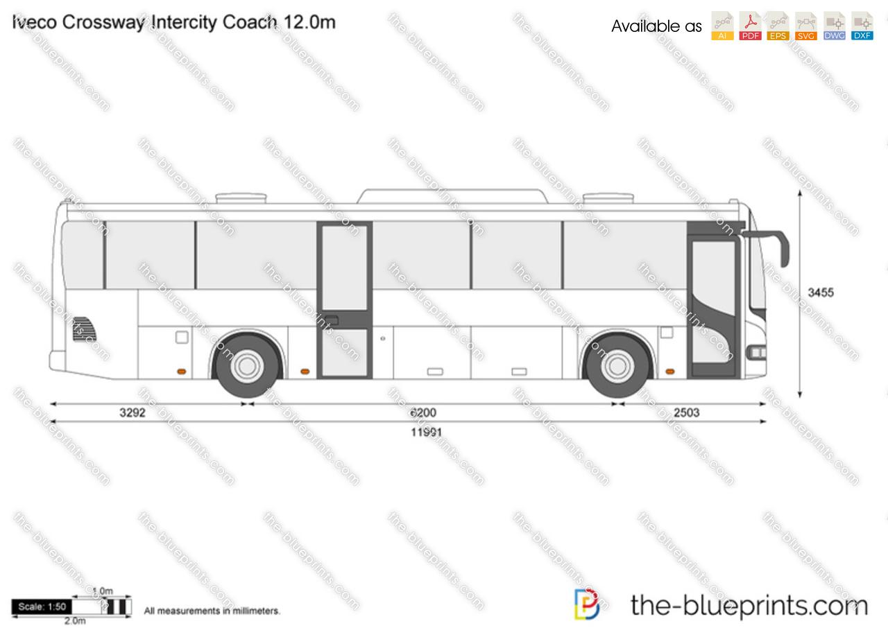 Iveco Crossway Intercity Coach 12.0m