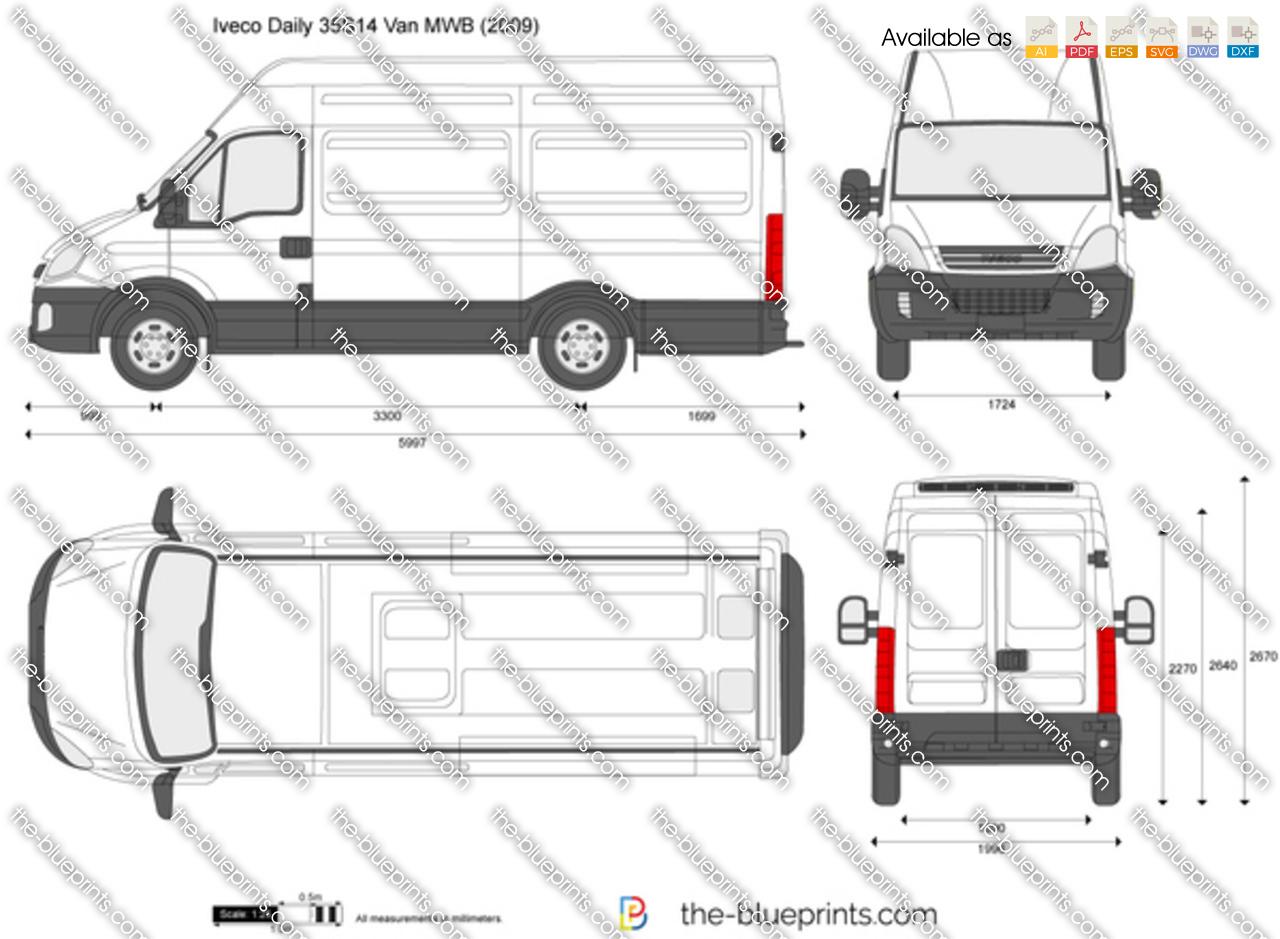 Iveco Daily 35S14 Van MWB 2008