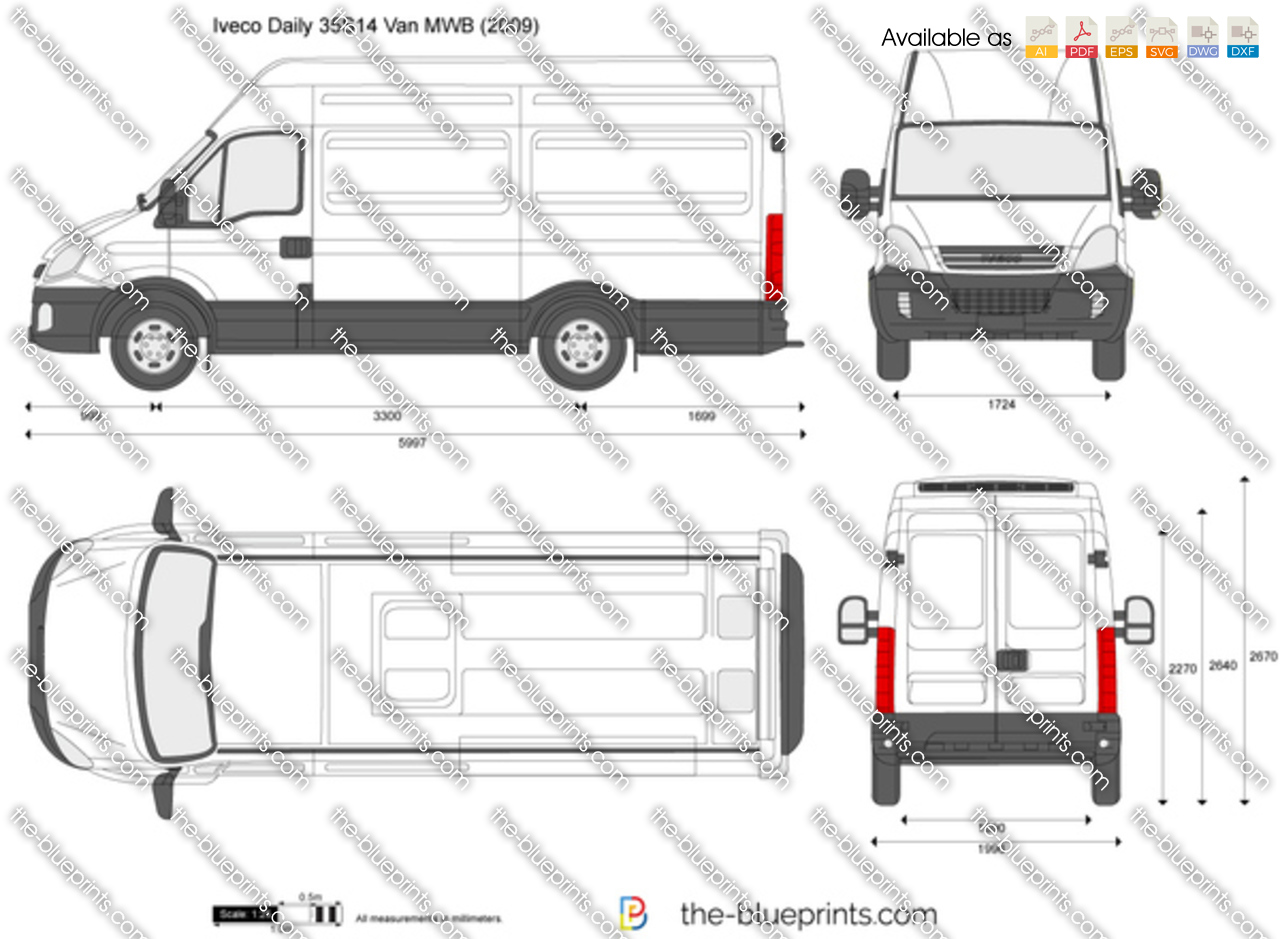 Iveco Daily 35S14 Van MWB 2010