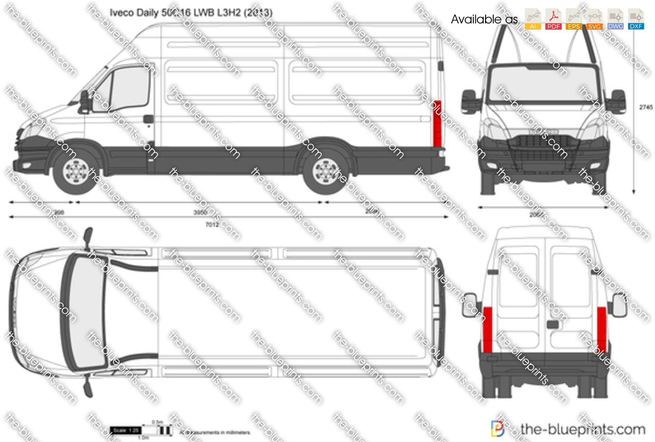 Iveco Daily 50C16 LWB L3H2 2012