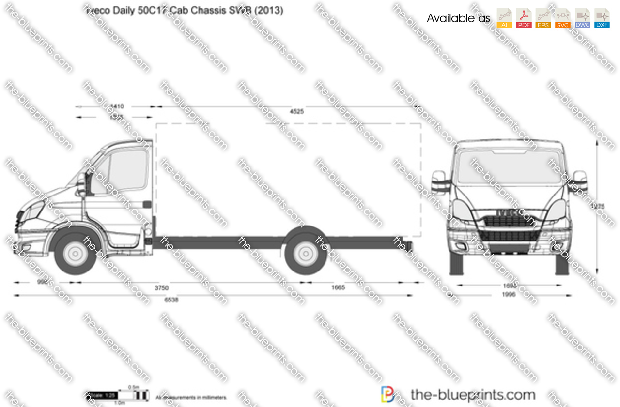 Iveco Daily 50C17 Cab Chassis SWB 2014