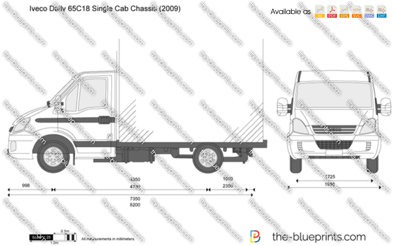 Iveco Daily 65C18 Single Cab Chassis 2008