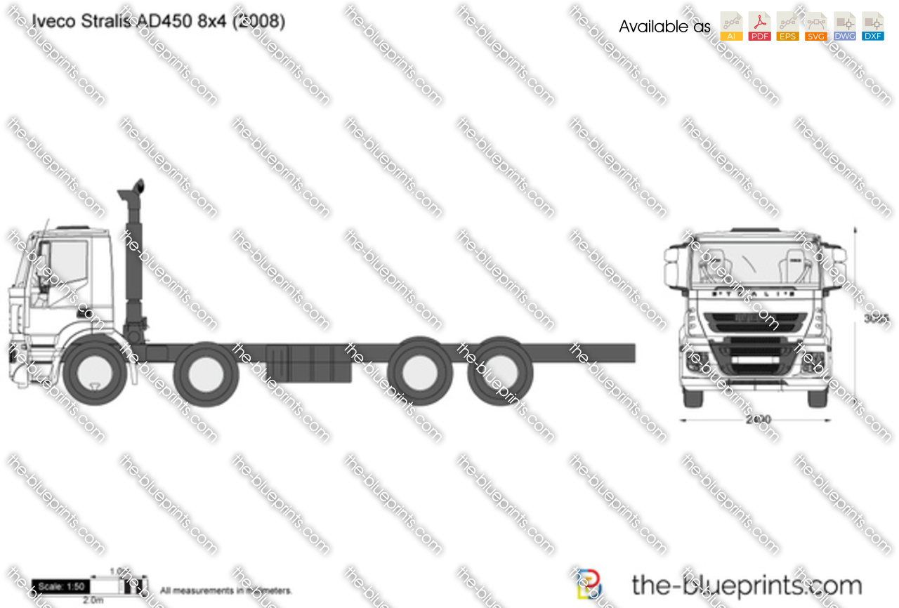 Iveco Stralis AD450 8x4