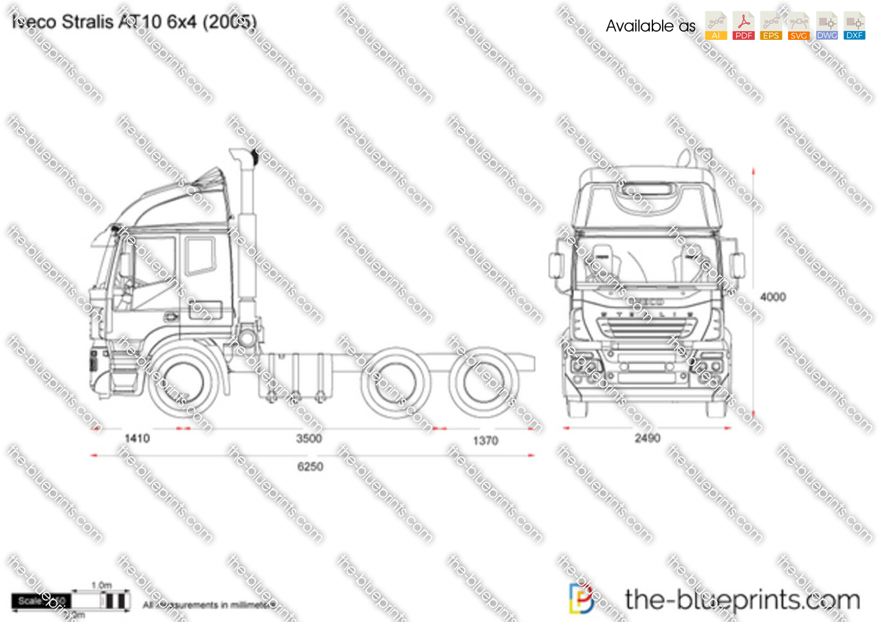 Iveco Stralis AT10 6x4
