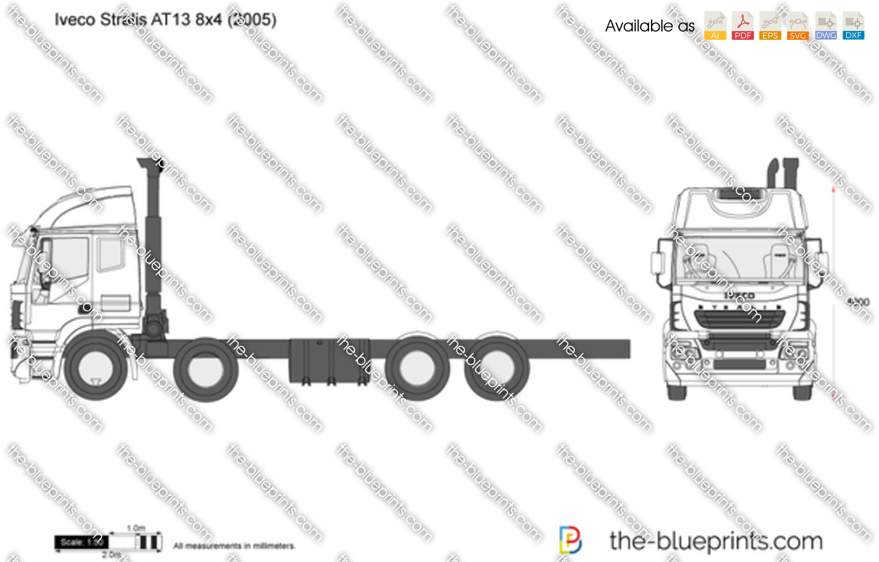 Iveco Stralis AT13 8x4