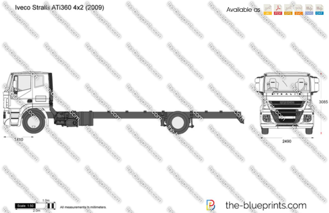 Iveco Stralis ATi360 4x2