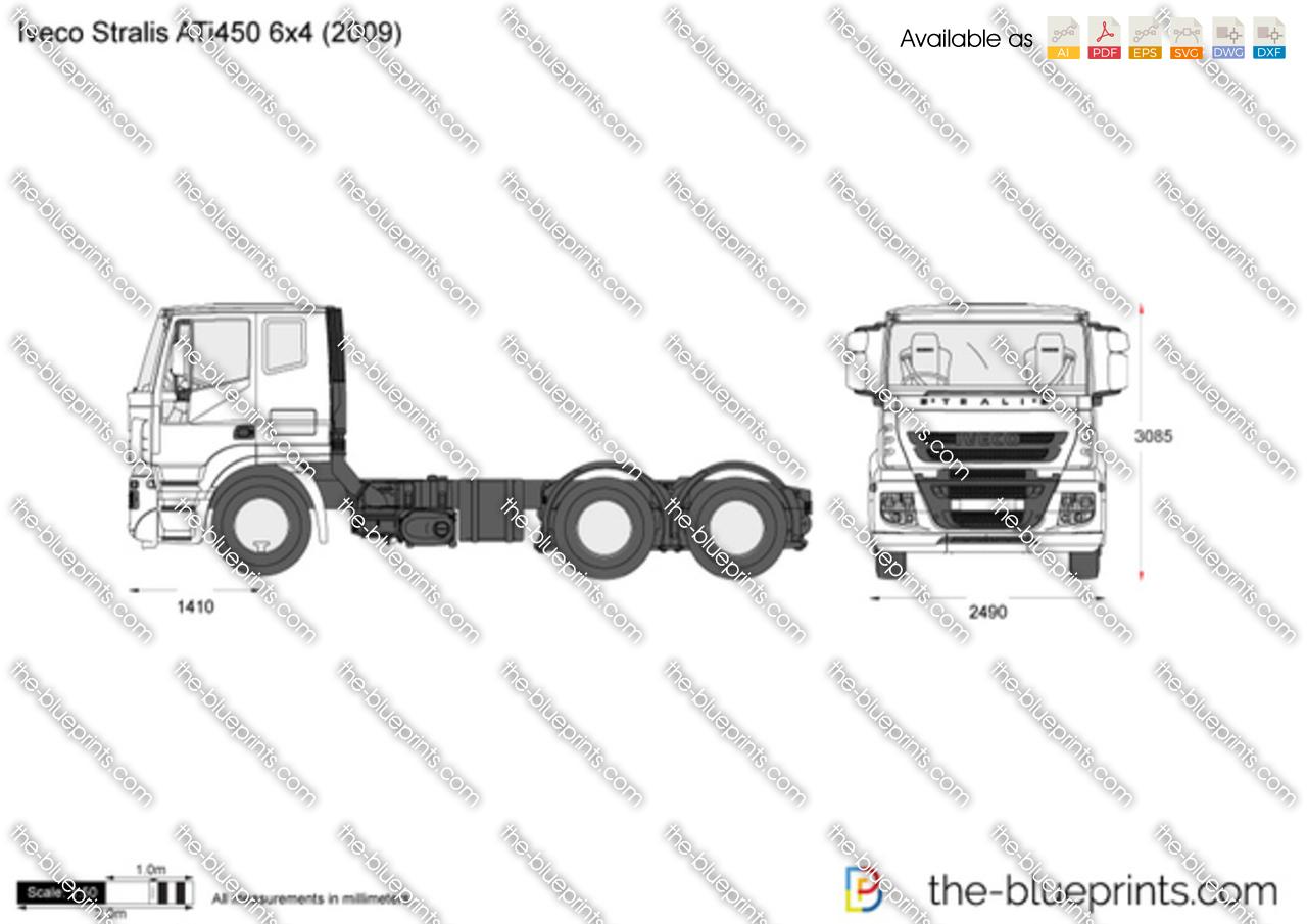 Iveco Stralis ATi450 6x4