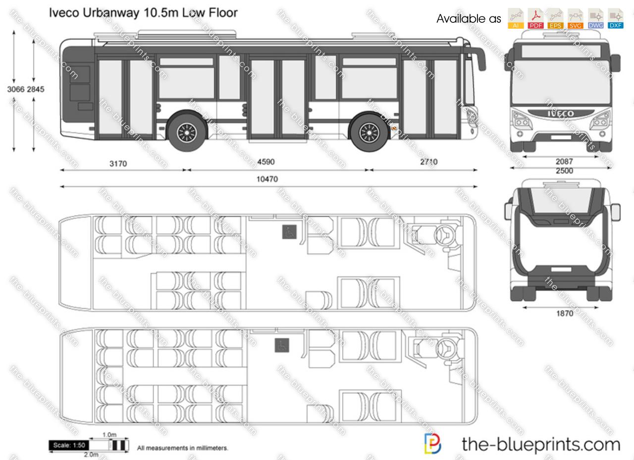 Iveco Urbanway 10.5m Low Floor