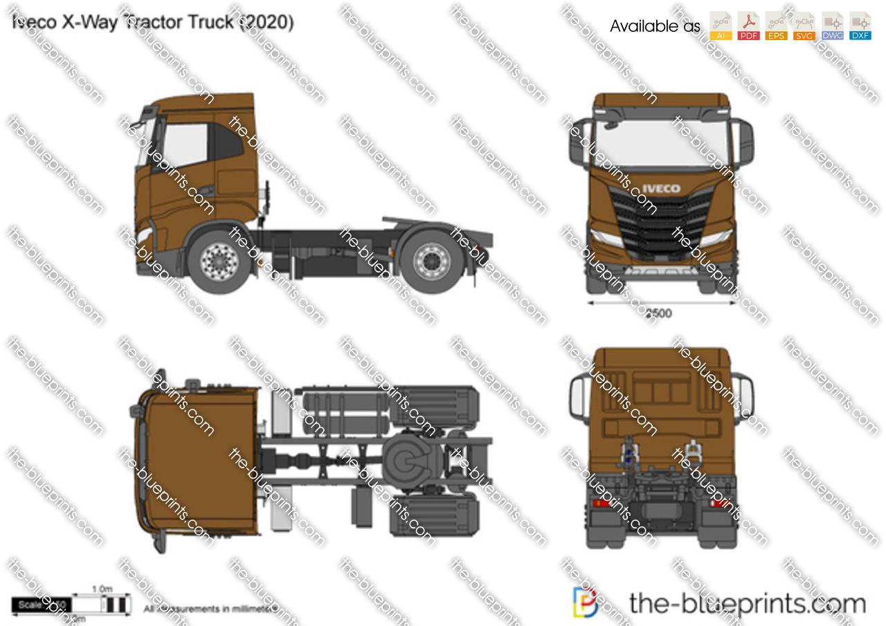 Iveco X-Way Tractor Truck