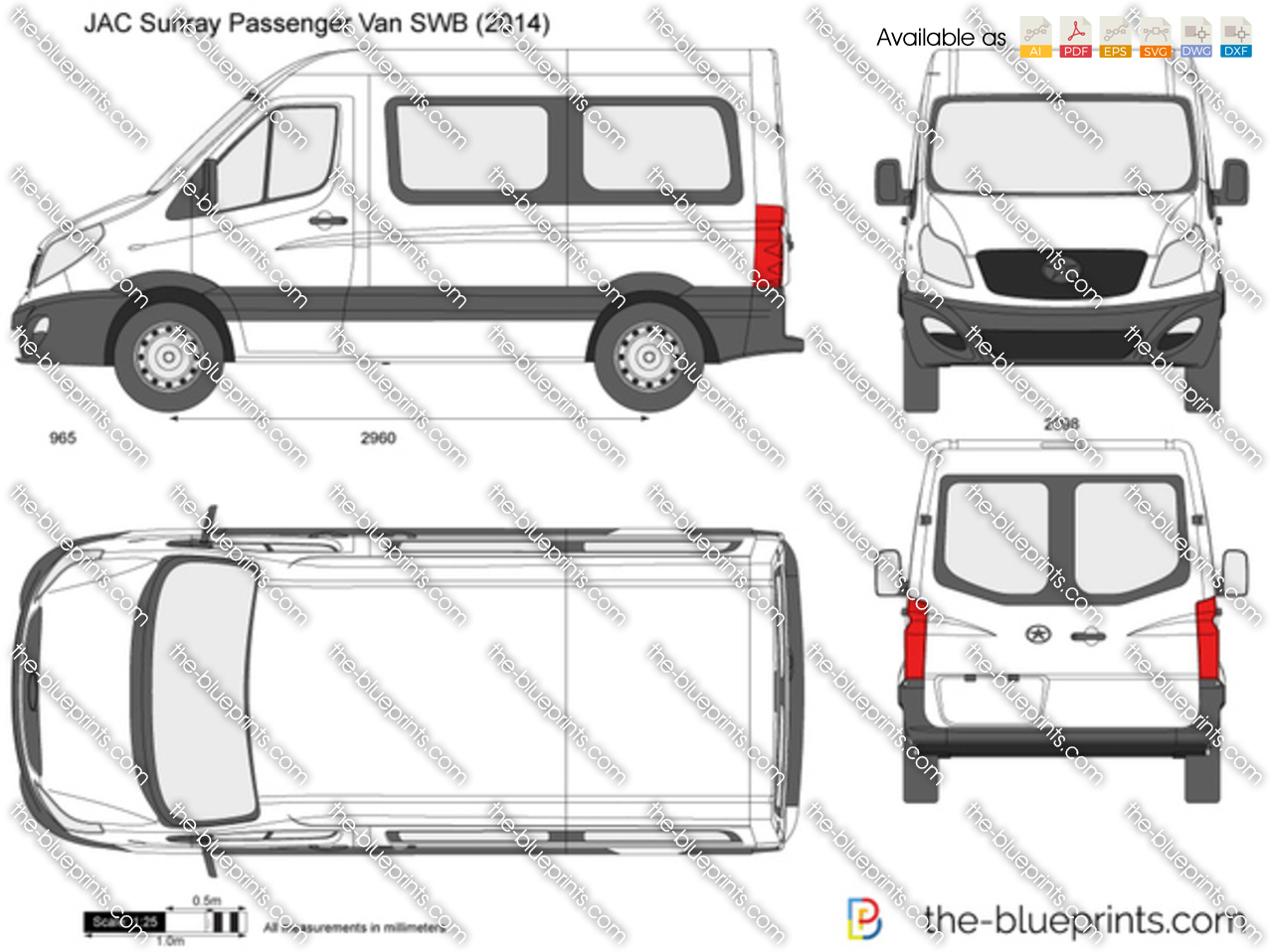 JAC Sunray Passenger Van SWB