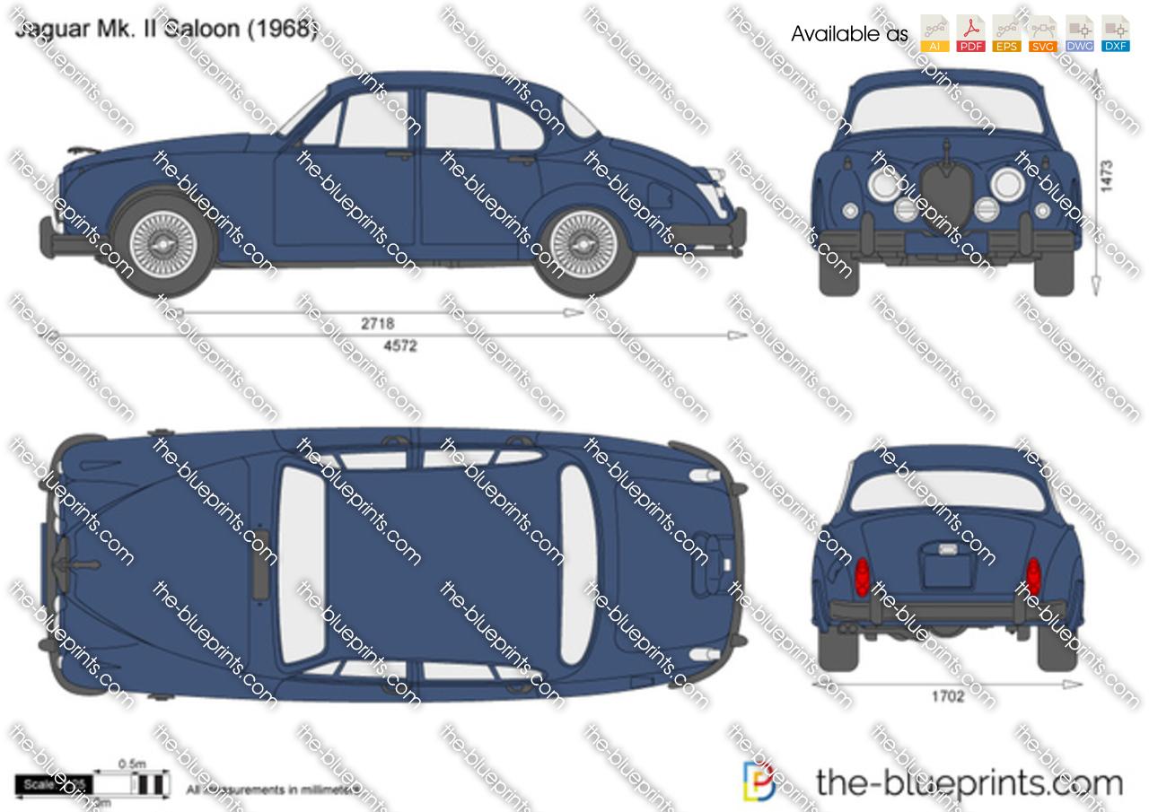 Jaguar Mk. II Saloon 1961