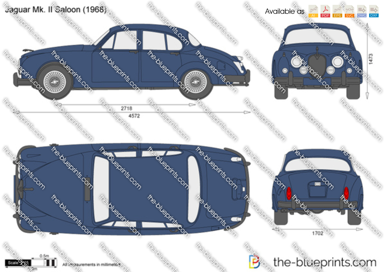 Jaguar Mk. II Saloon 1965