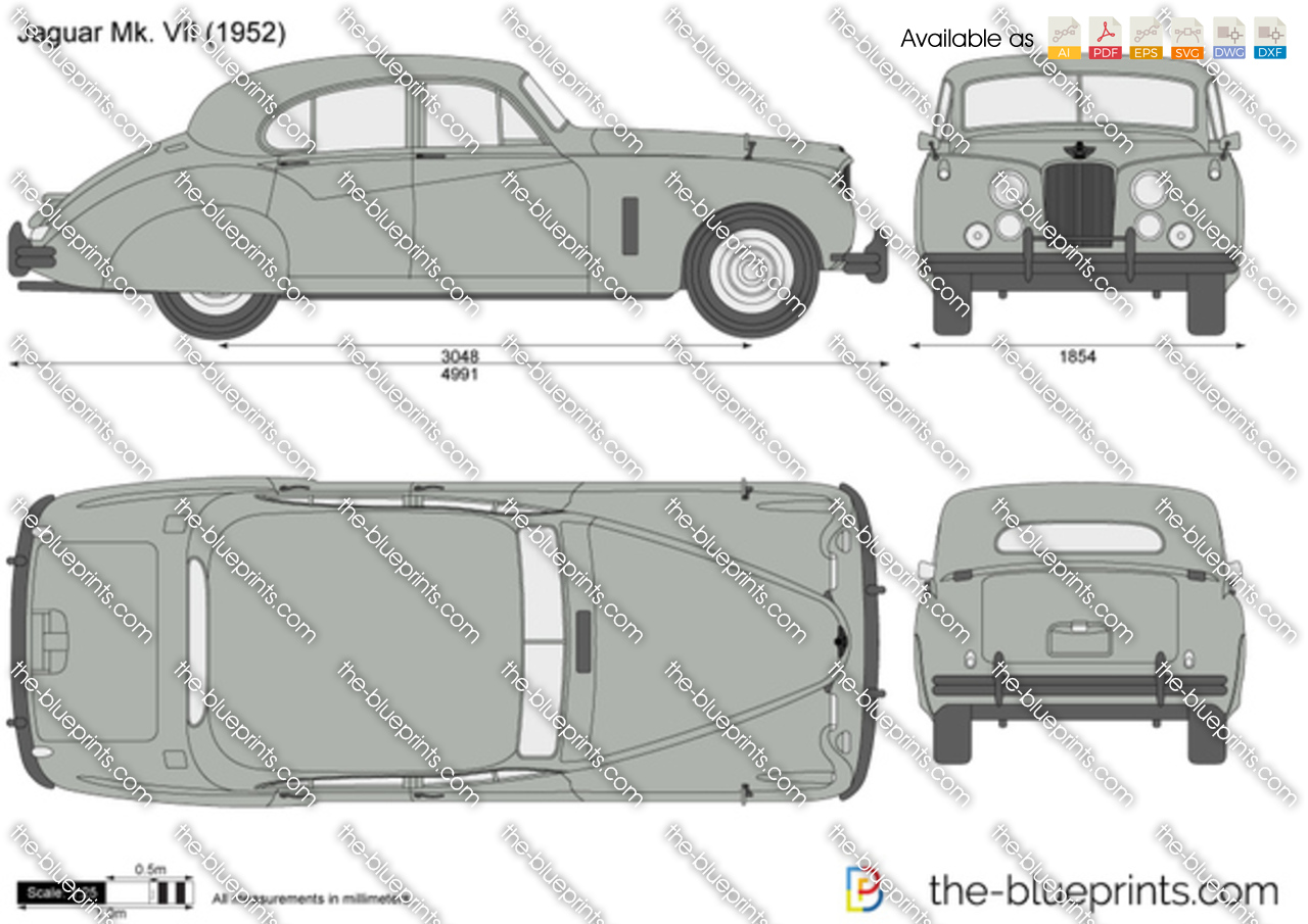 Jaguar Mk. VII 1955