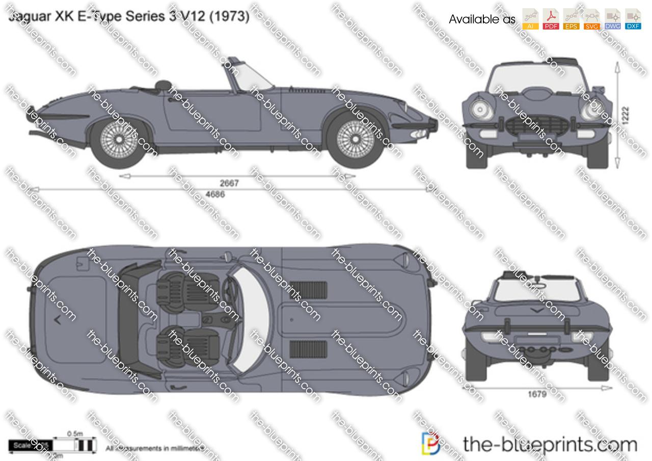 Jaguar XK E-Type Series 3 V12 1971