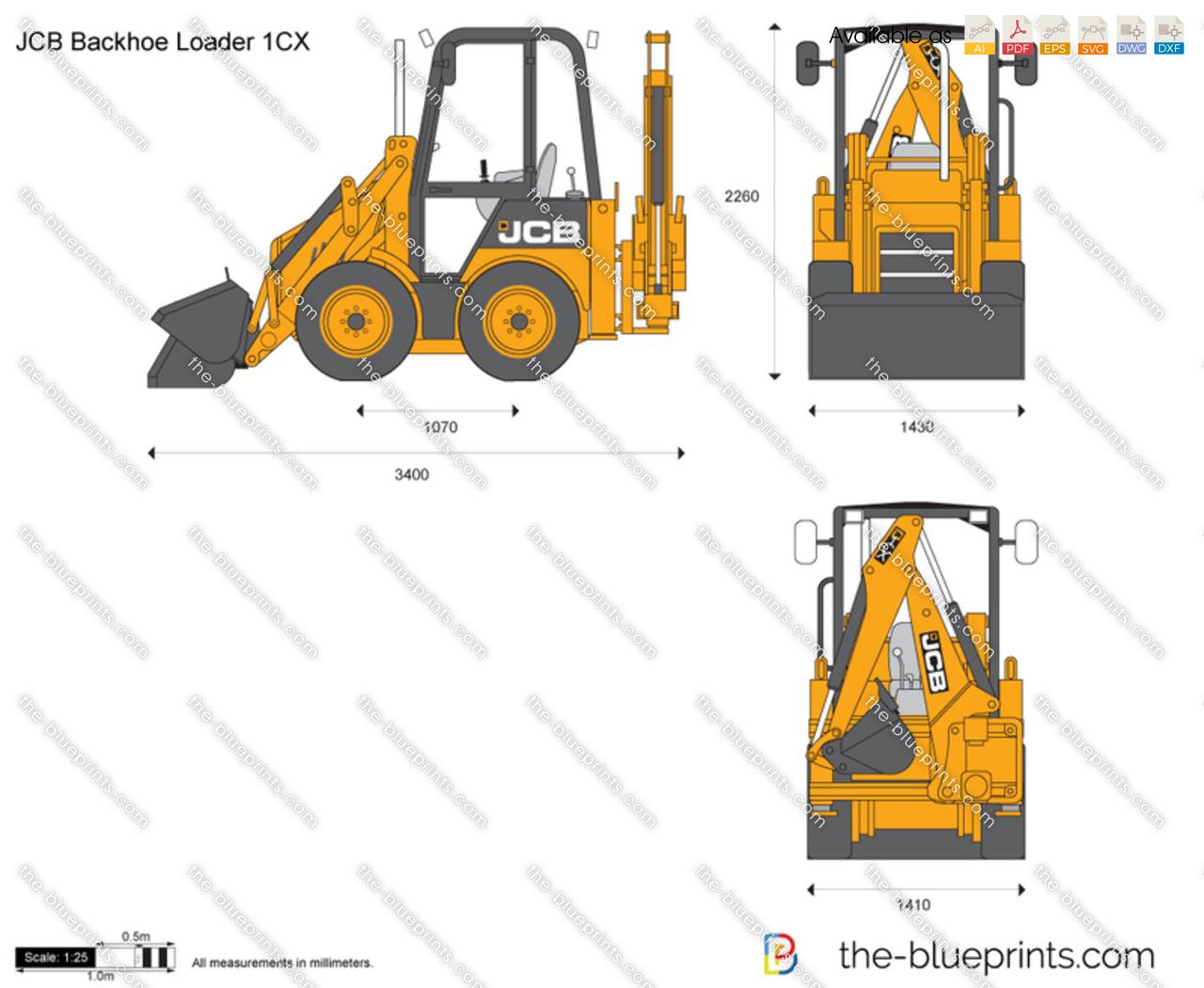 JCB 1CX Backhoe Loader