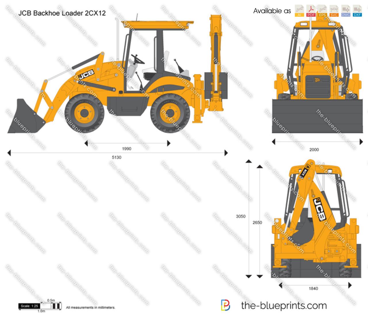 JCB 2CX12 Backhoe Loader