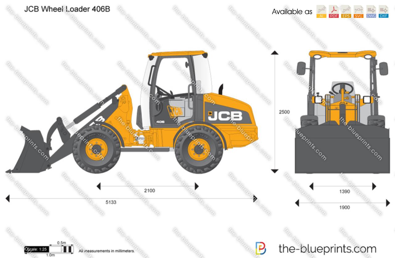 JCB 406B Wheel Loader