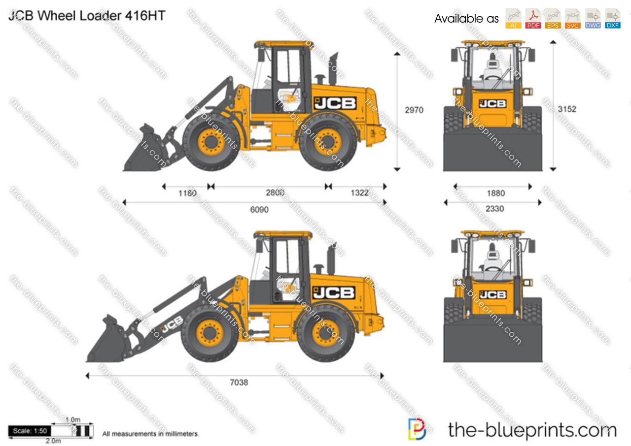 JCB 416HT Wheel Loader