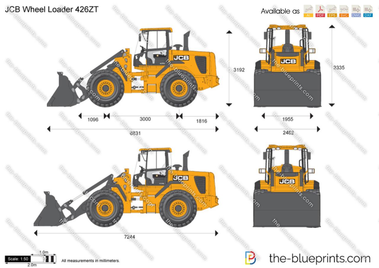 JCB 426ZT Wheel Loader