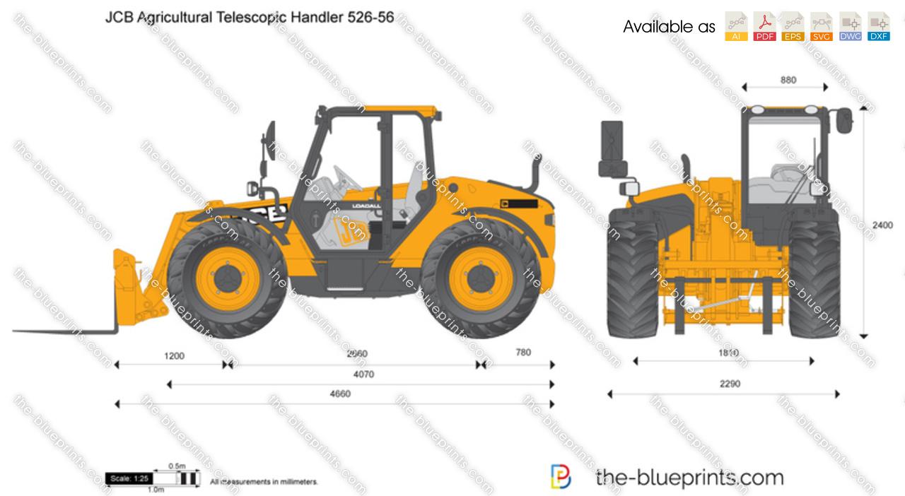 JCB 526-56 Agricultural Telescopic Handler