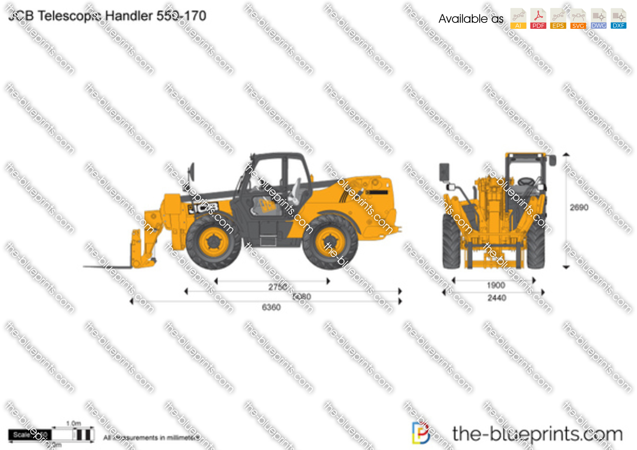 JCB 550-170 Telescopic Handler