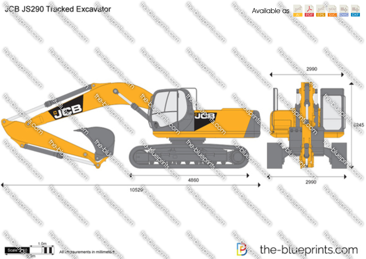JCB JS290 Tracked Excavator