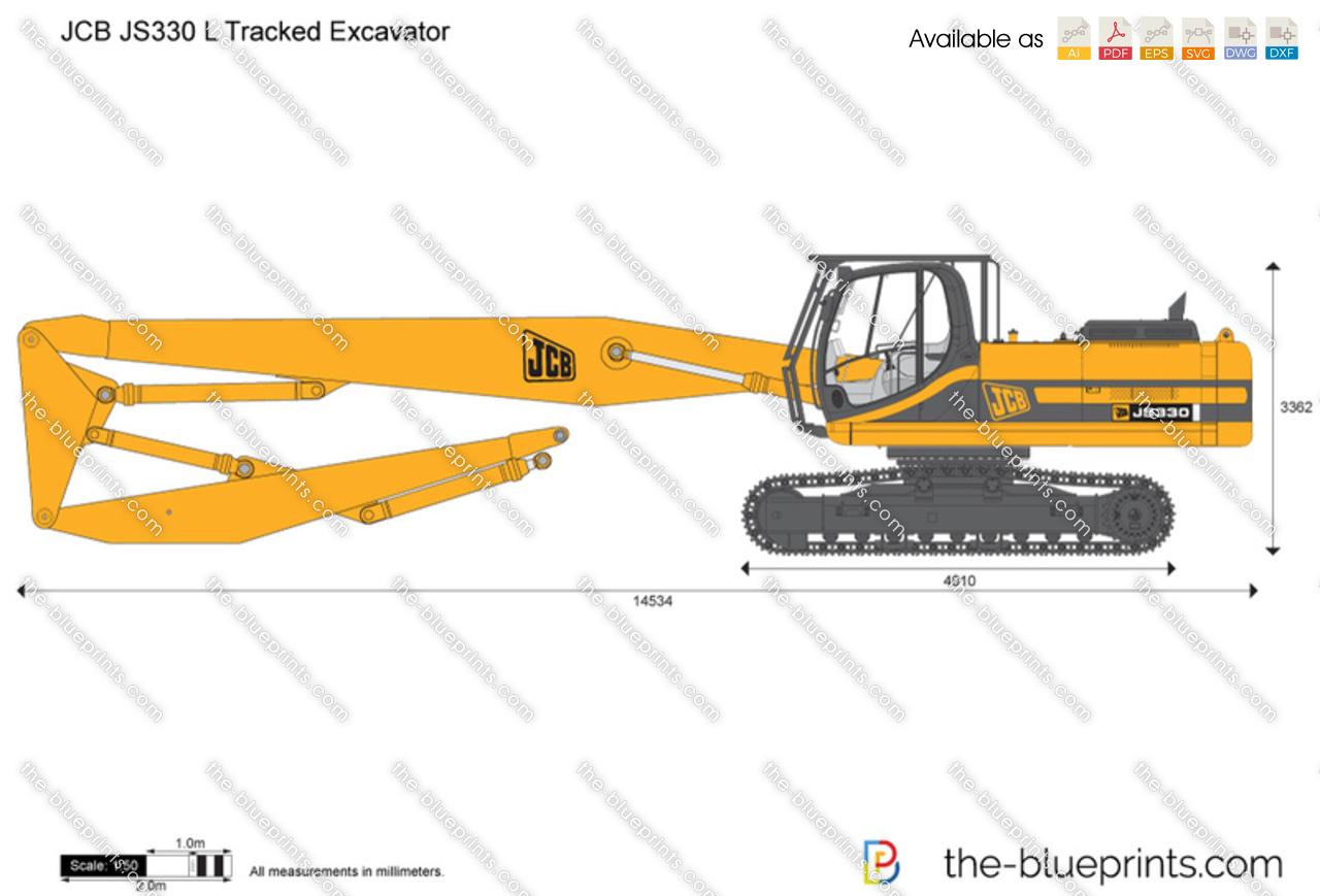 JCB JS330 L Tracked Excavator