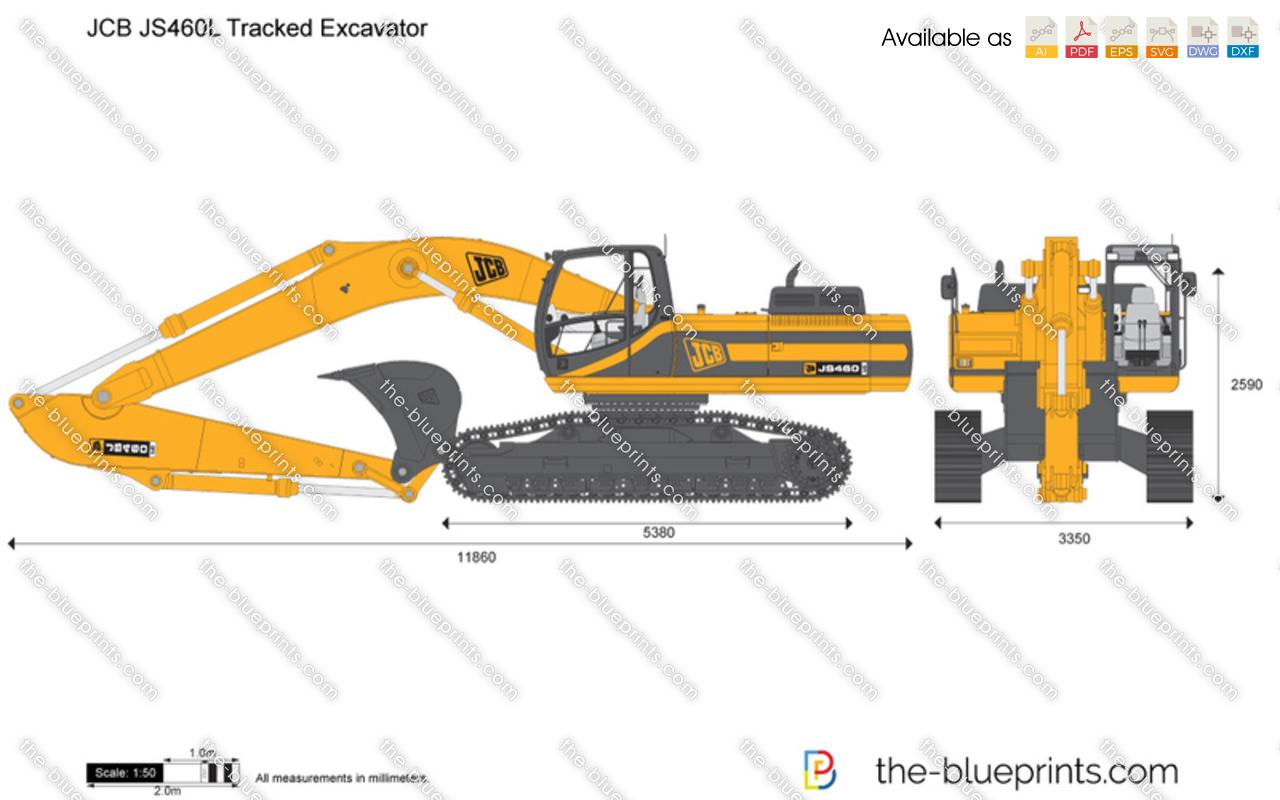JCB JS460L Tracked Excavator