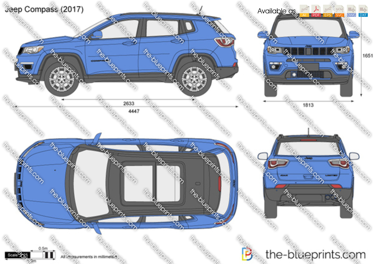 The Blueprints Com Vector Drawing Jeep Compass