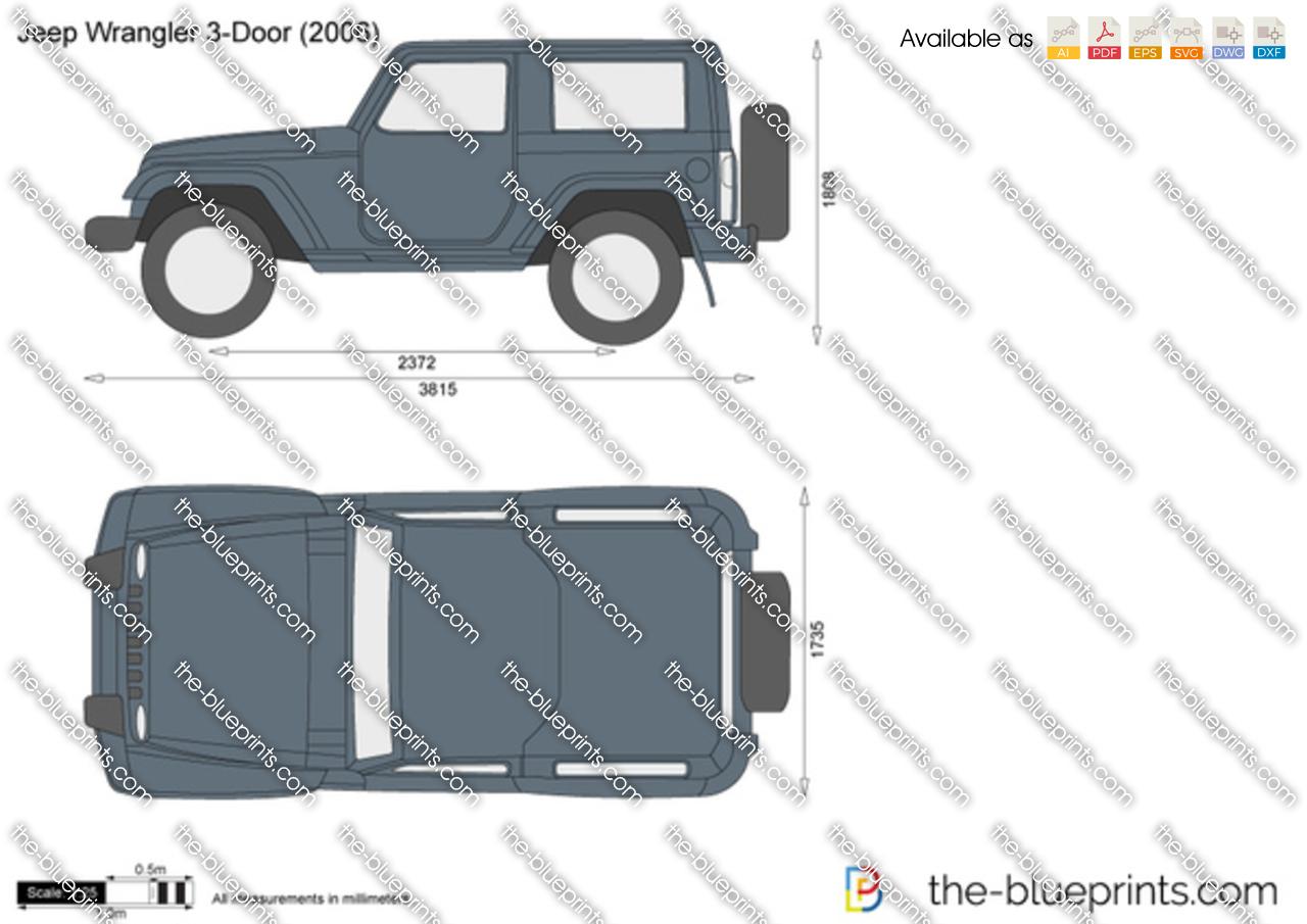 Jeep Wrangler 3-Door JK