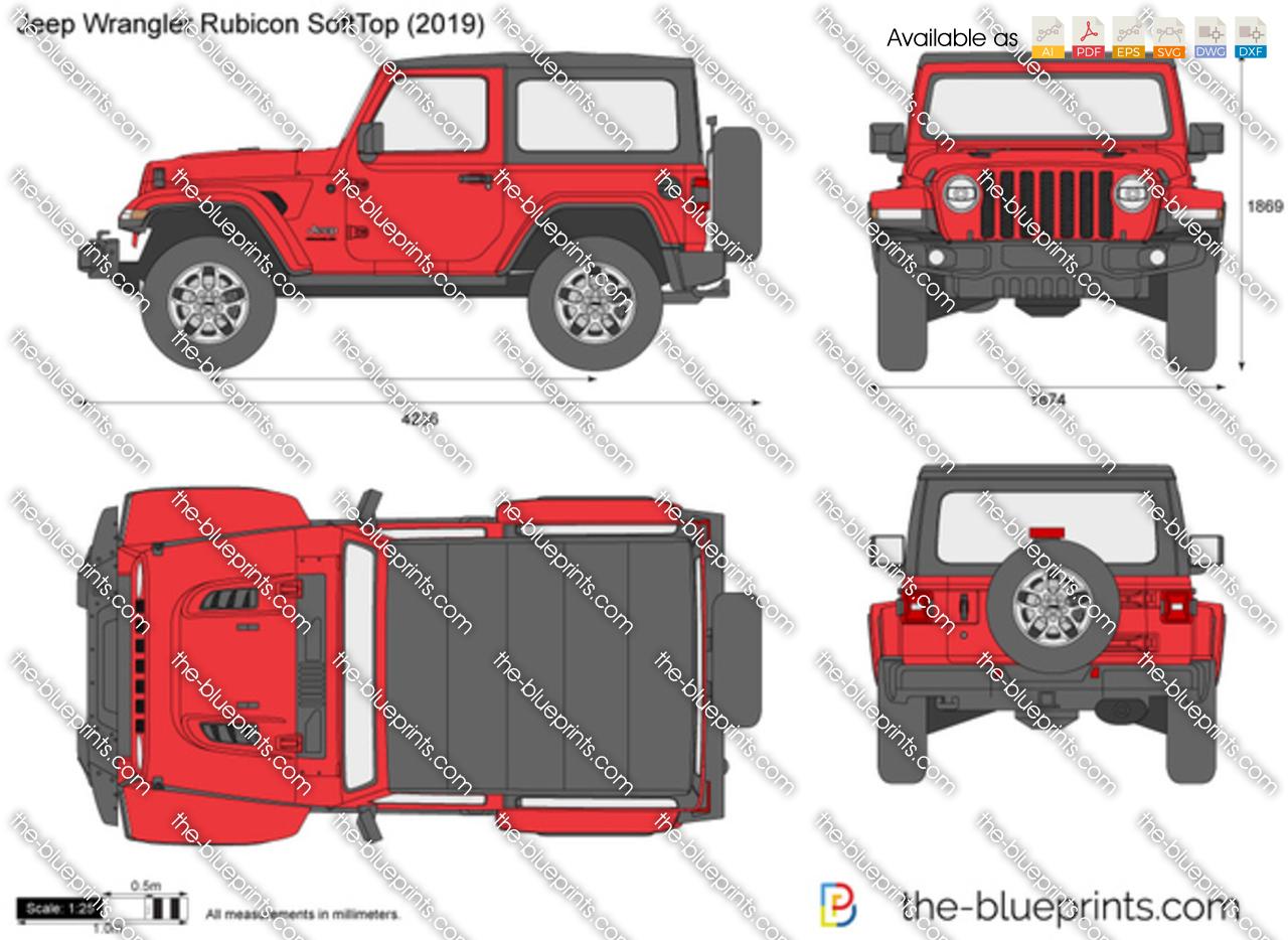 Jeep Wrangler Rubicon SoftTop JL