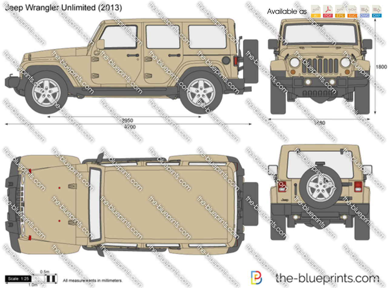 Jeep Wrangler Unlimited 5-Door JK