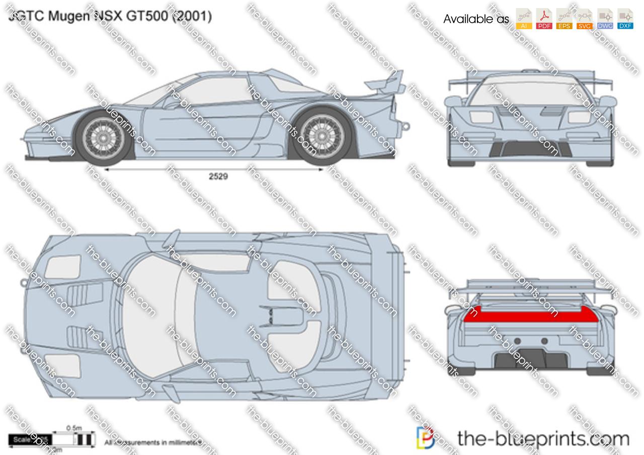 blueprintscom vector drawing jgtc mugen nsx gt