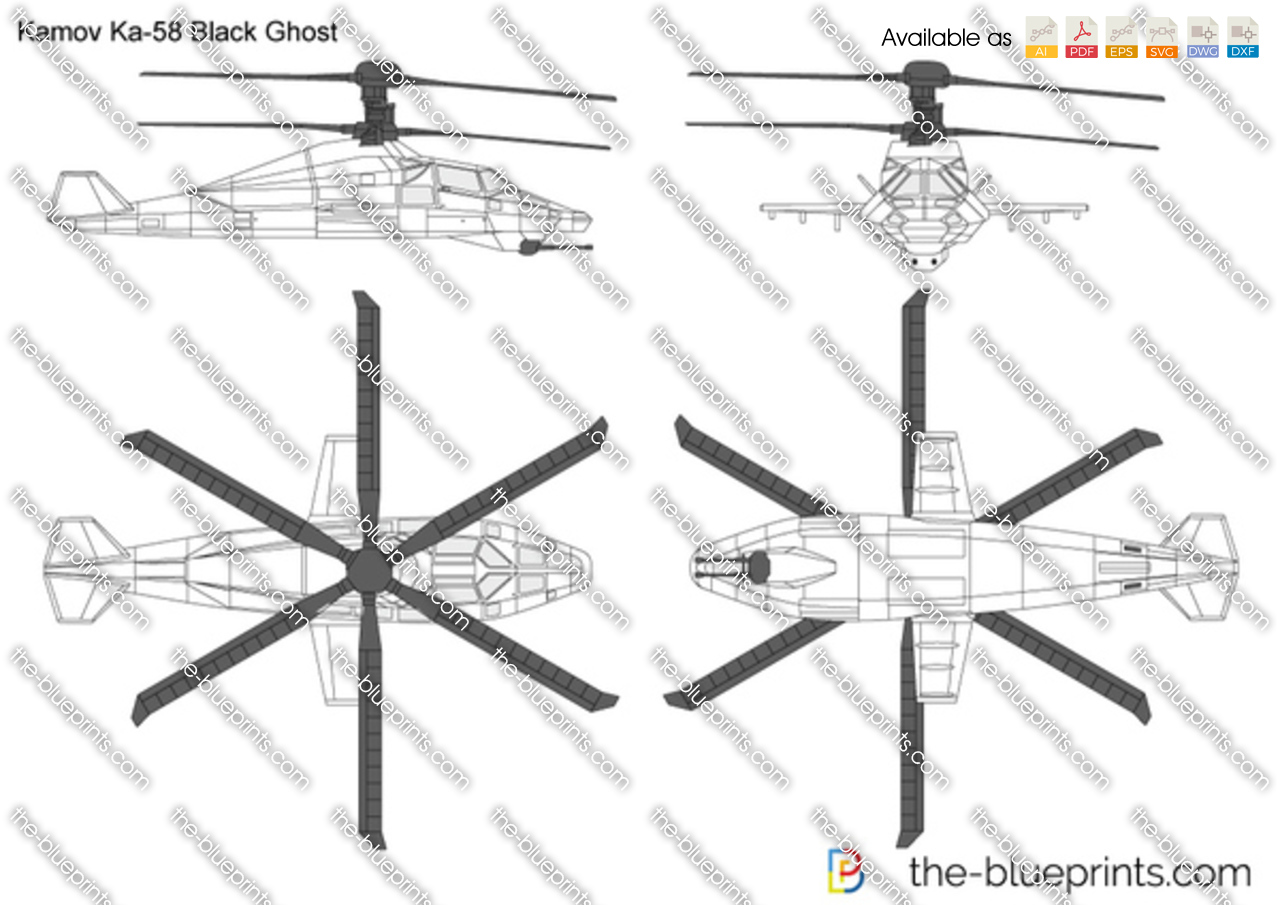 Kamov Ka-58 Black Ghost