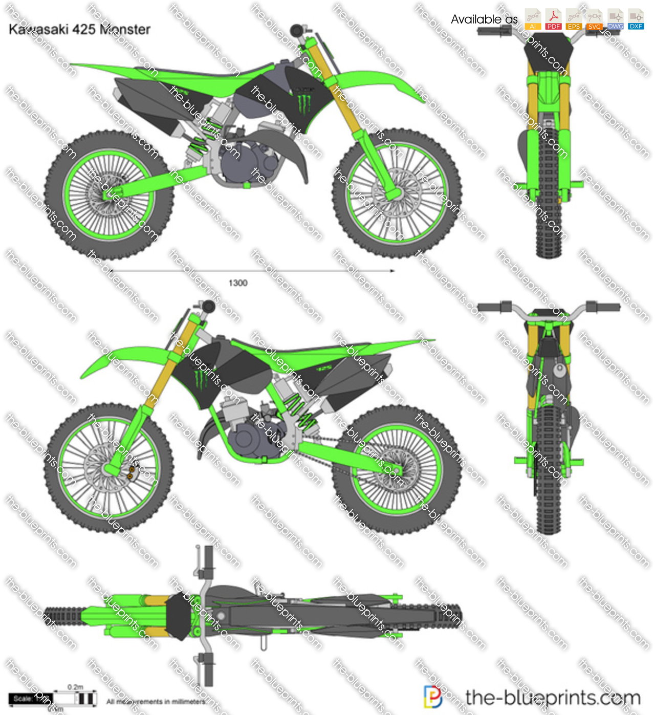 Kawasaki 425 Monster