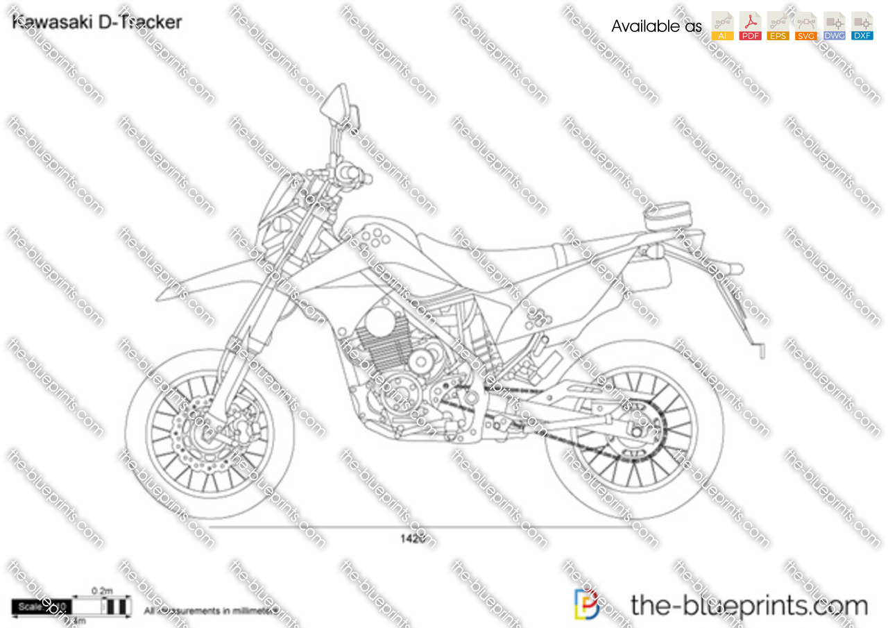 Kawasaki D-Tracker 2013