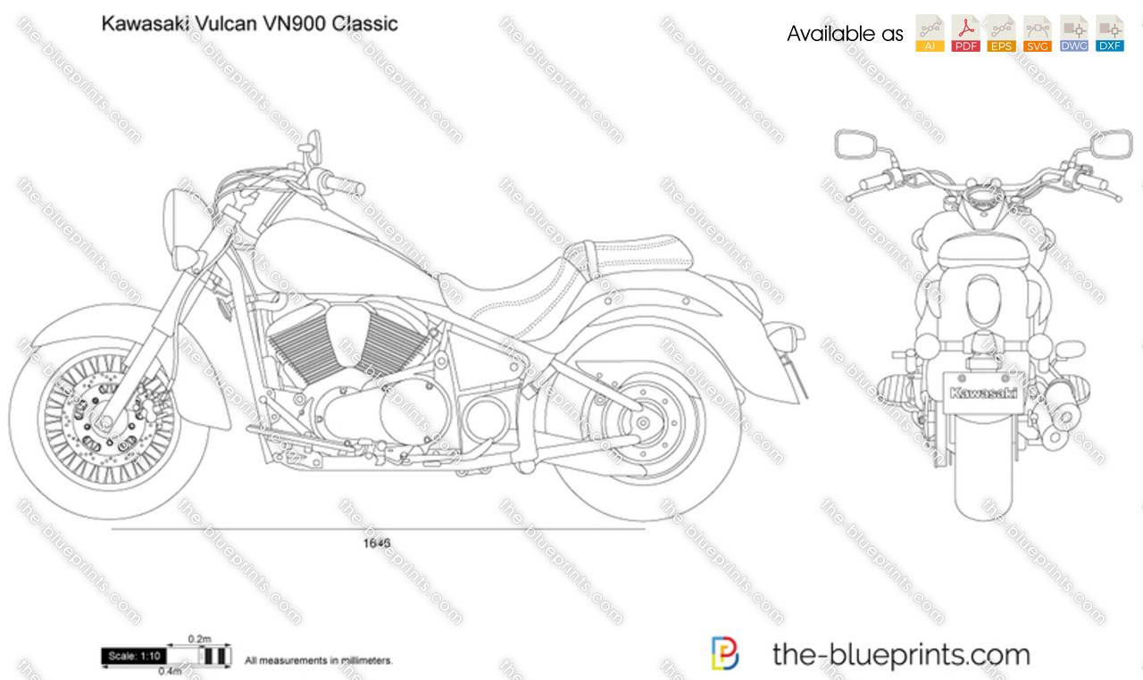 Kawasaki Vulcan VN900 Classic