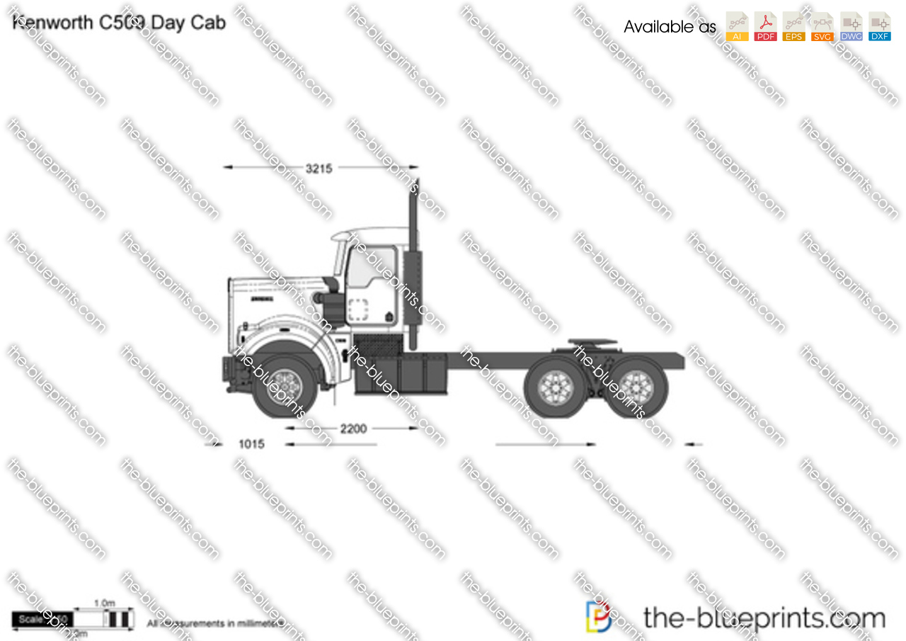 Kenworth C509 Day Cab