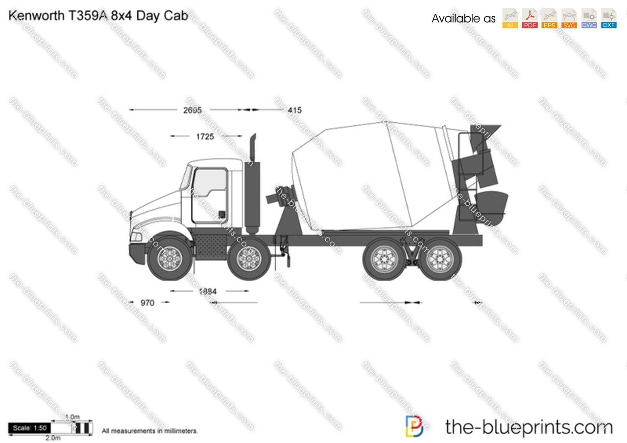 Kenworth T359A 8x4 Day Cab