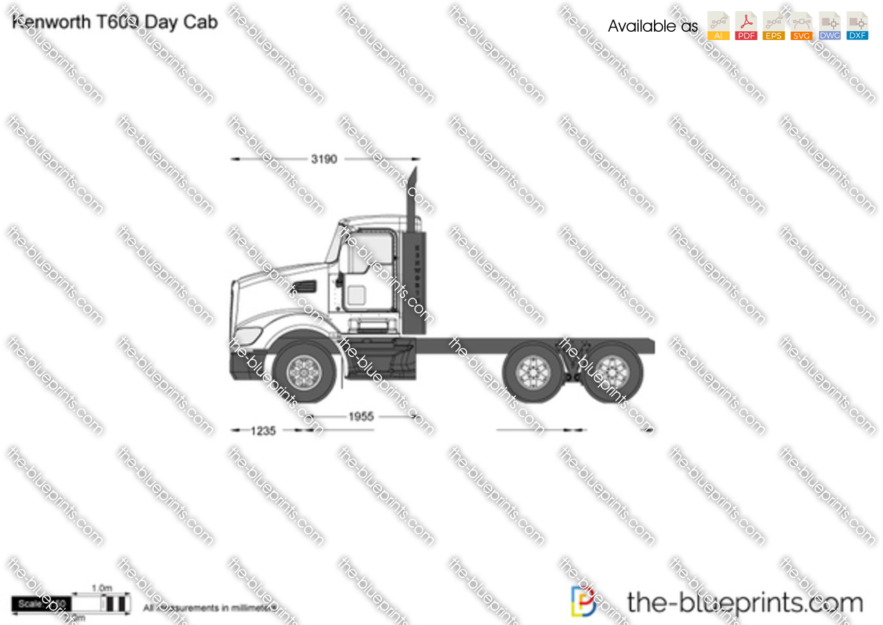 Kenworth T609 Day Cab