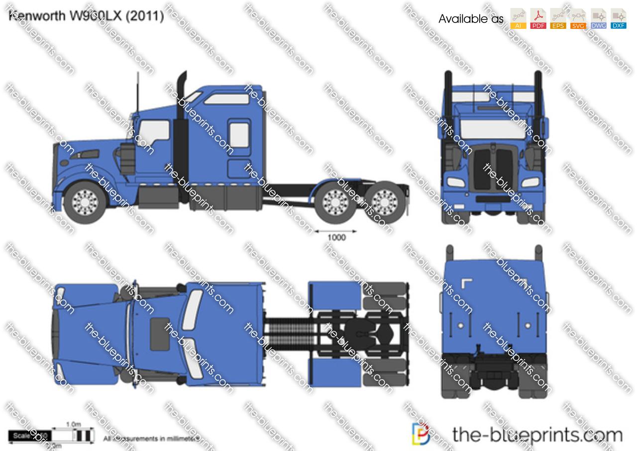 Kenworth W900LX