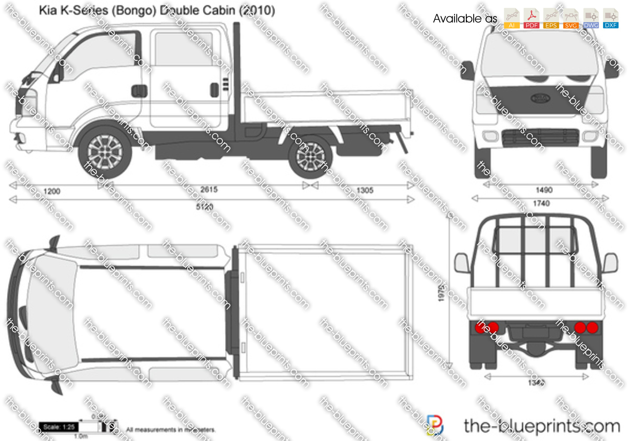 Kia K-Series (Bongo) Double Cabin 2008