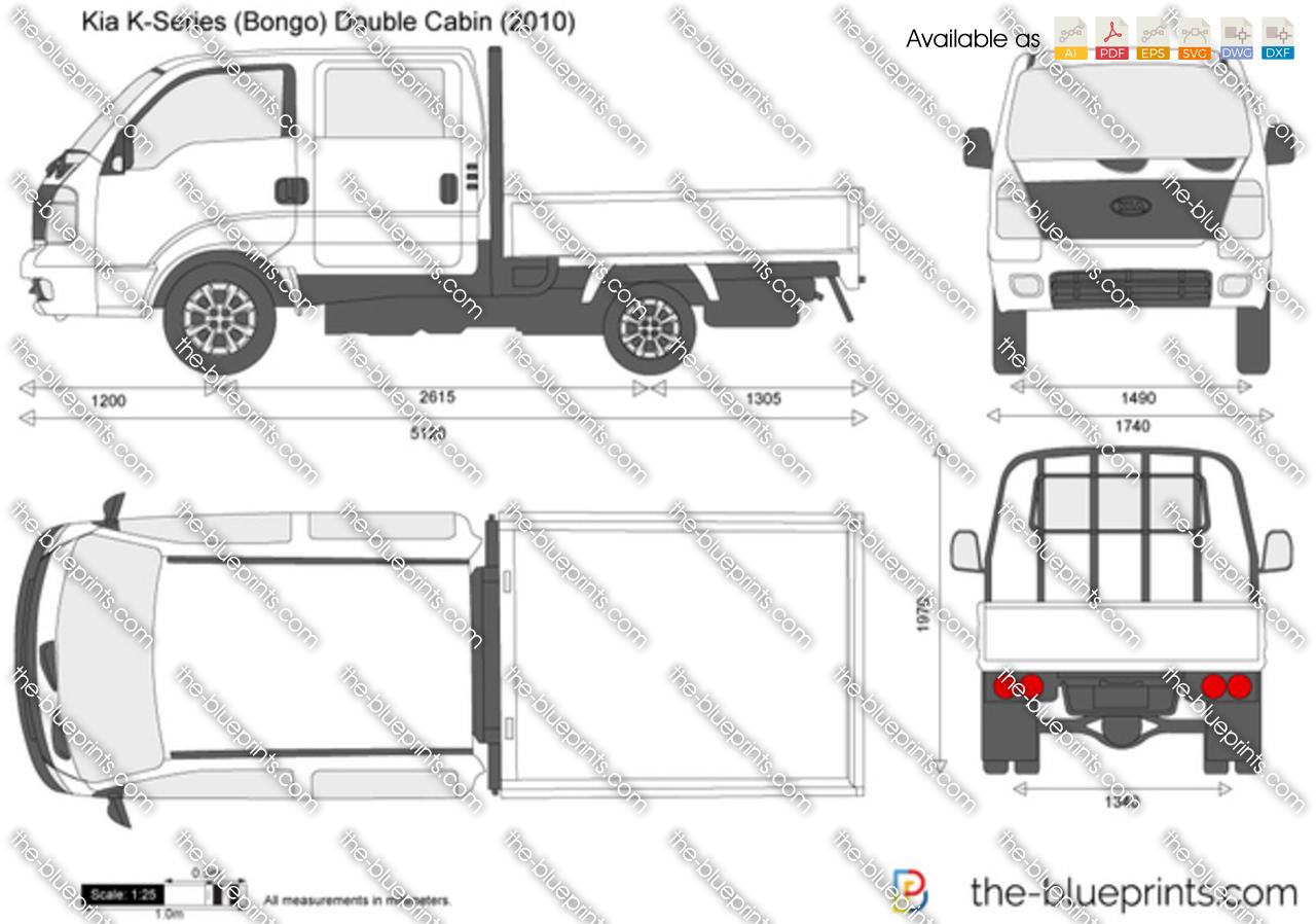 Kia K-Series (Bongo) Double Cabin 2012