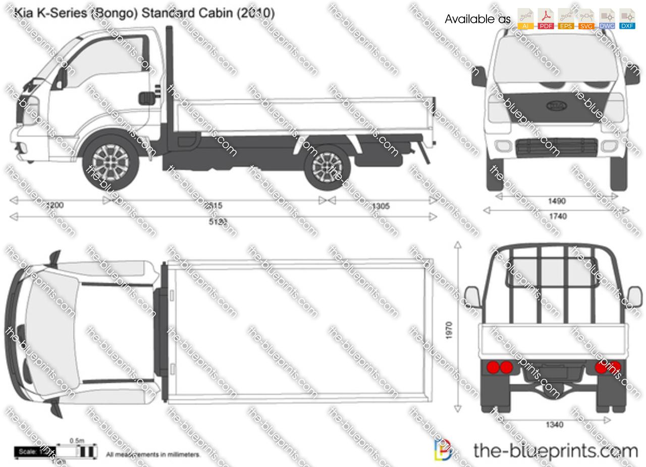 Kia K-Series (Bongo) Standard Cabin 2005
