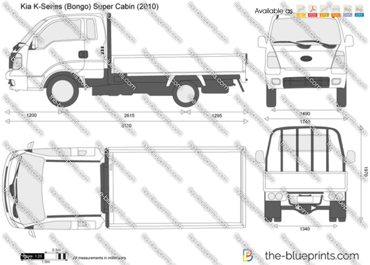 Kia K-Series (Bongo) Super Cabin 2009
