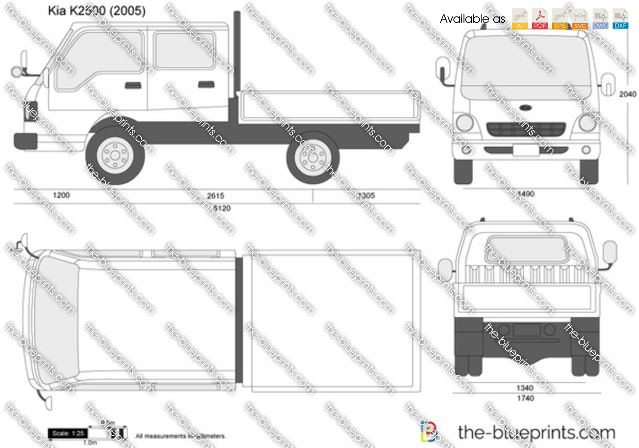 Kia K2500 Double Cab 2012