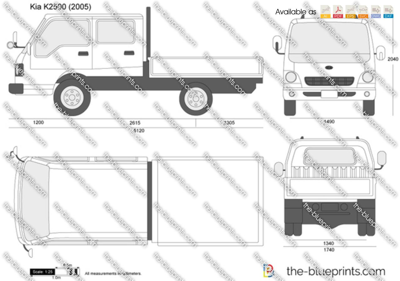 Kia K2500 Double Cab 2015